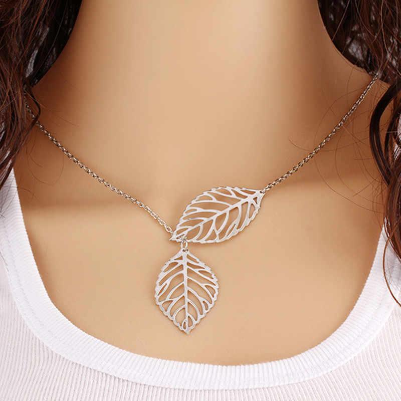 """פשוט גל לב שרשרת שיק אק""""ג פעימות לב זהב צבע תליון קסם ברקים שרשרת לנשים בציר תכשיטי אבזרים"""