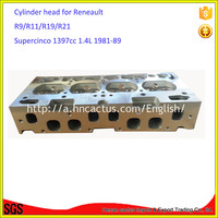 R11 R19 R21 R9 Cylinder head for Renault C1J C2J Supercinco 1397cc 1.4L 1981 89