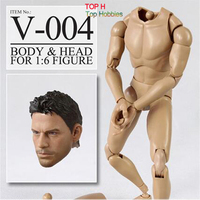 Veryhot New 1/6 Toys Scale Body Male VS004 Head +Body Fit 12