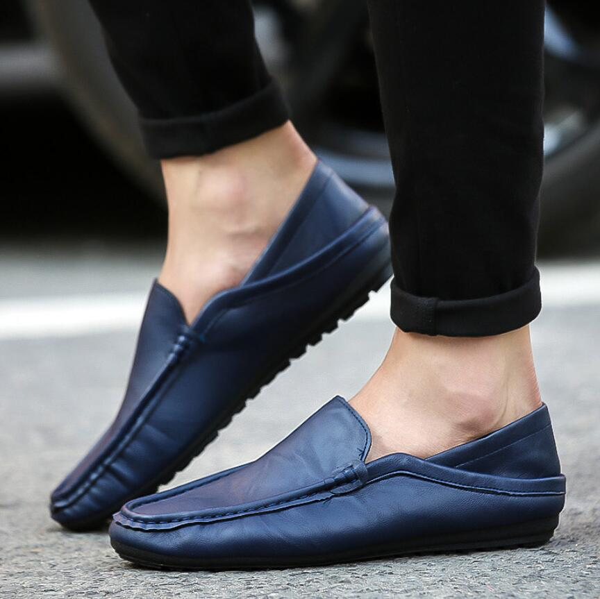SAGYUA NEW Korean Male Fashion Spring Casual Loafers Hombre Men - Men's Shoes - Photo 4