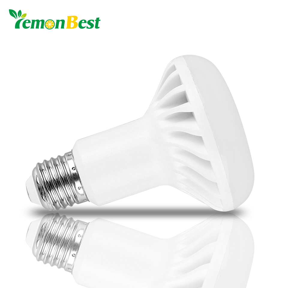 LemonBest E14 E27 LED Bulb Lamp SMD 5730 R39 R50 R63 R80 5W 7W 9W 12W LED Spot light 220V 110V Bulbs Warm Cold White SpotLight e27 led 4 5w 36 smd 5730 warm white white cover corn light lamp led bulb ac 220v