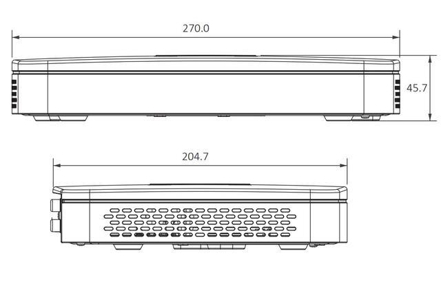 Dahua-POE NVR NVR2108-8P-4KS2   Enregistreur vidéo intelligent, 8 canaux 1U 8PoE Lite, 4K H.265
