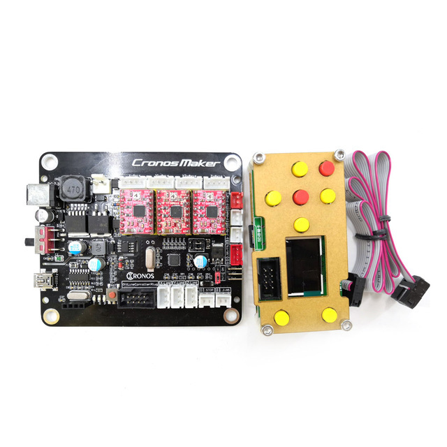 New Version 3 Axis GRBL Double Y Axis USB Driver Board For  1610 2418 CNC 3018 DIY CNC Laser Engraver Controller Laser Board