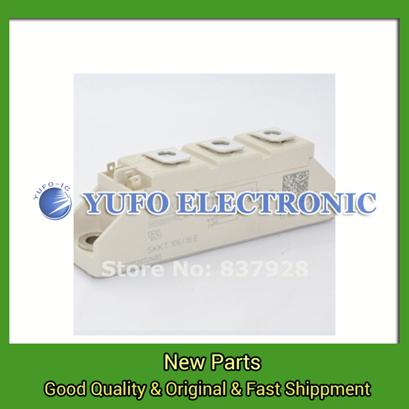 Free Shipping 1PCS SKKT106 / 16E Power Modules original new Special supply Welcome to order YF0617 relay free shipping 1pcs skm600gb126d power modules original new special supply welcome to order yf0617 relay