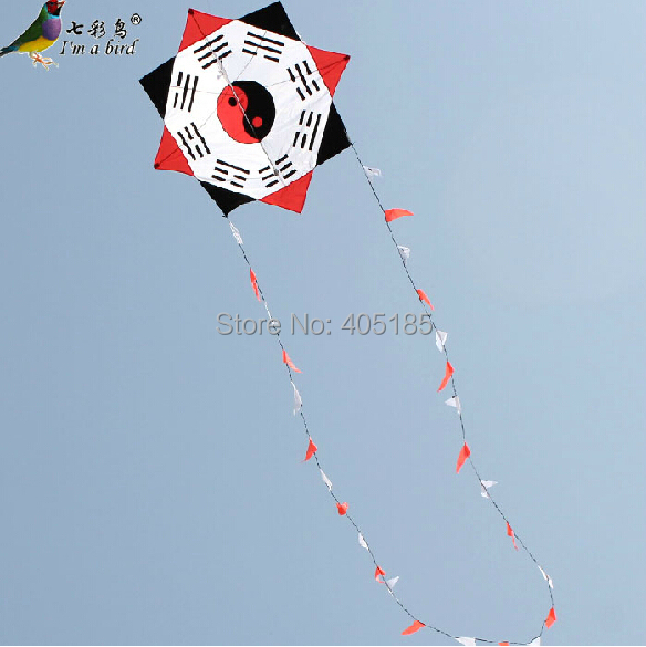 Free Shipping Outdoor Fun Sports Diamond Eight-Diagram-Shaped Appetizer Kite Good Flying Factory Outlet
