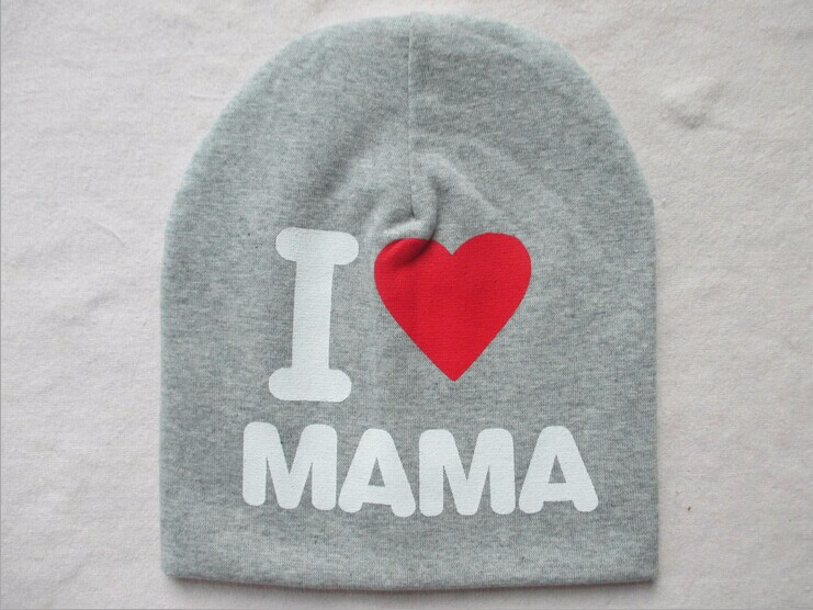Baby Knitted Love Print Hat