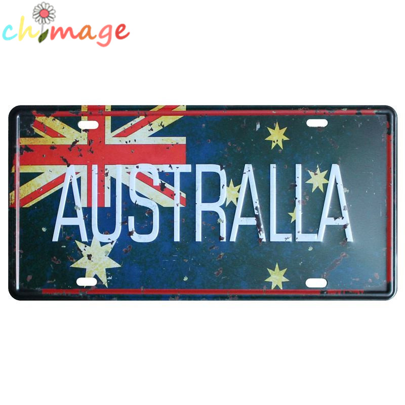 AUSTRALIA FLAG License CAR PLATE Vintage Tin Sign Bar pub home Wall Decor  Retro Metal Art. Online Get Cheap Furniture Australia  Aliexpress com   Alibaba Group