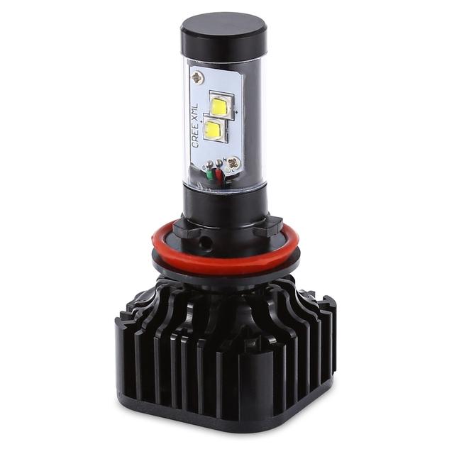 2pcs K8 H8/9/11 80W Integrated LED Vehicle Headlight Heat Dissipation Vibration Resistance Perfect Heat Dissipation Design