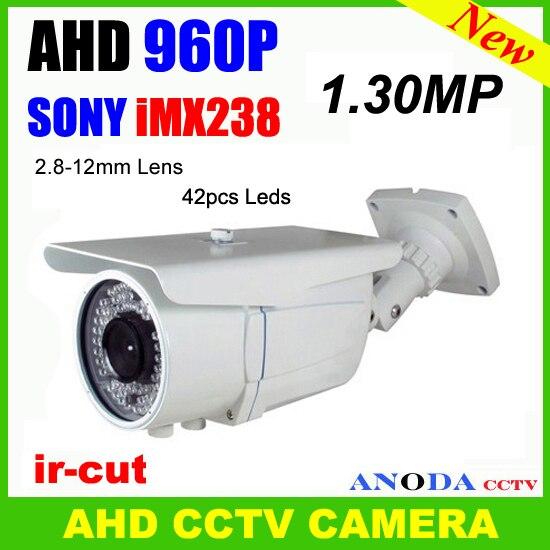 Открытый датчик движения ночного видения Sony imx238 + nextchip nvp2431h экранное меню ахд 960 P ик камеры видеонаблюдения