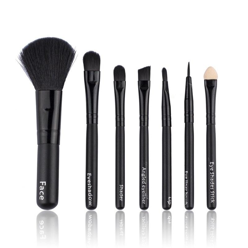 7pcs/Sets Pro Beauty Makeup Brushes Face Brushes For Foundation Powder Blusher