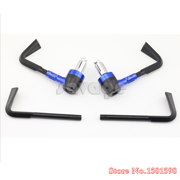 Motorcycle Aluminum Protector Handlebar 7/8 22mm Brake Clutch Levers Protect Guard For HONDA CBR250R CBR500R CBR600RR CBR1000RR motorcycle brake clutch levers for honda cb1000f cb1100 cbr1100xx st1100 st1300 cbx750 for 7 8 22mm handlebar 1pair chrome