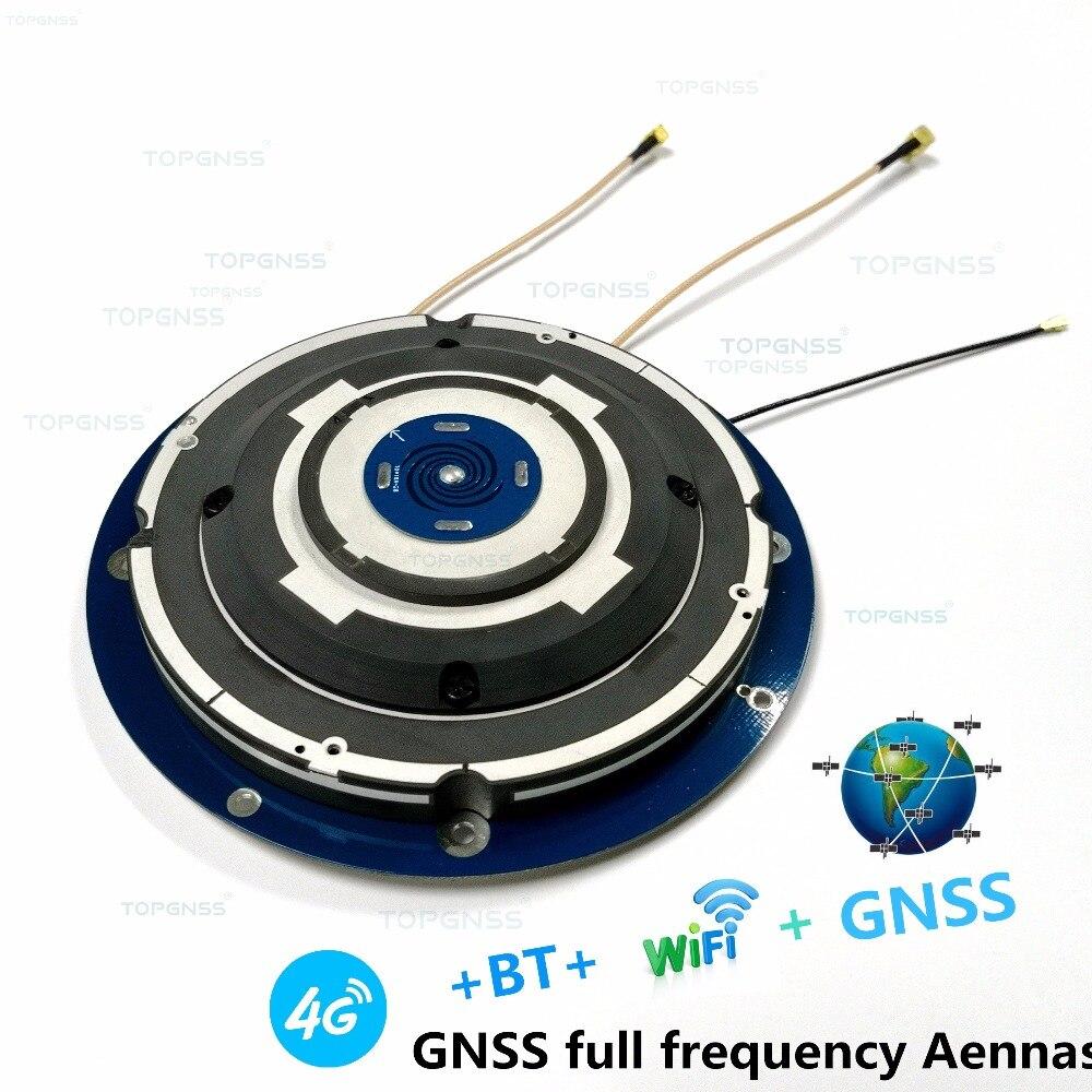 GPS/Glonass/Beidou/Galileo/4G/WIFI/BT/antenne, antenne GNSS, haute-Précision enquête RTK pleine fréquence GNSS GPS récepteur antenne