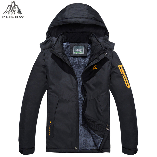 Size M-6XL 7XL Fur Collar Hooded Men Winter Jacket 2018 New Warm Thicken Parka Man Jacket and Coat Windproof Male Parkas casaco