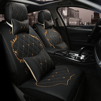 LARATH PU Leather Automotive Universal Car Seat Covers Car Styling Seat Cover Accessories ZDJ0225