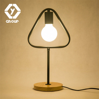 OYGROUP Dimmable Desk Lamp Night Table Lamp Vintage Eu Plug Modern Desk Lamp Table Bedside Lamp Abajur Para Quarto#N OY16T11