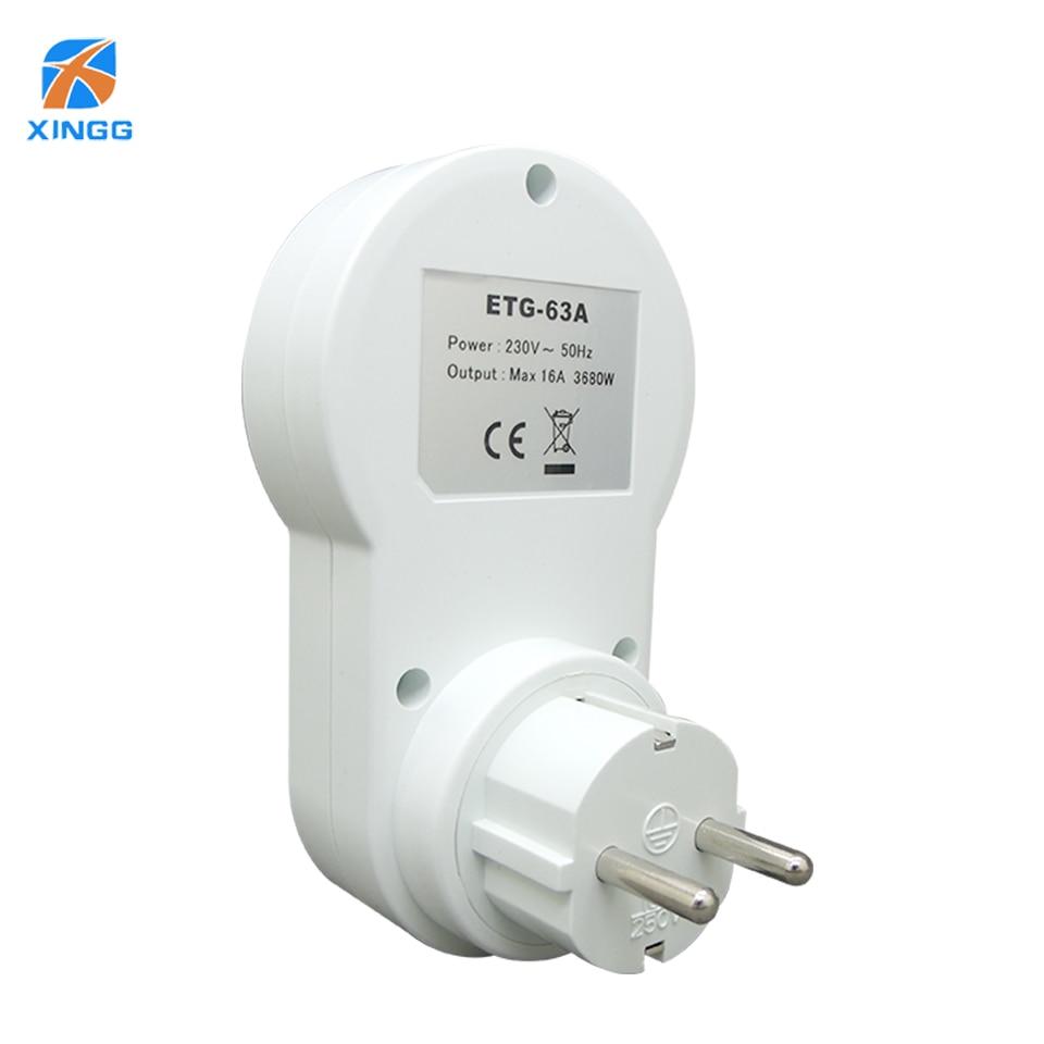 XINGG Eu-stecker Intelligente Elektrische AC Power Digital Timer ...
