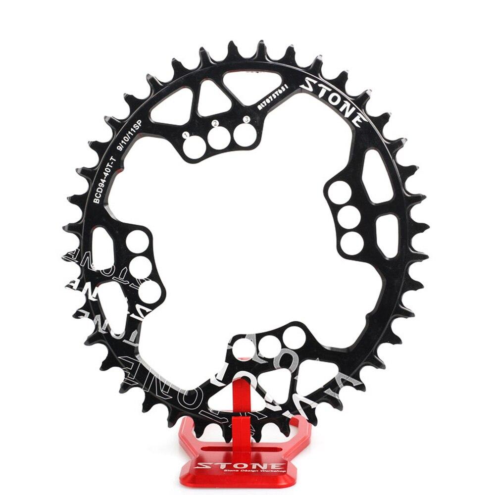 Pedra Oval Coroa Única 94mm BCD Estreito Largo 4 Parafuso GX 94 Para X1 NX FSA Chainwheel 34 t 36 t 38 t 40 T Anel Cadeia Peças de Bicicleta