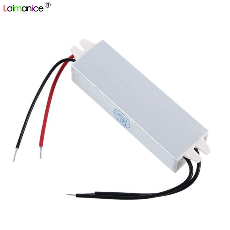 AC110V-220V to DC12V Power Supply 15W 1.5A IP67 Waterproof 12V LED Transformer Electronic Aluminum alloy Driver outdoor use