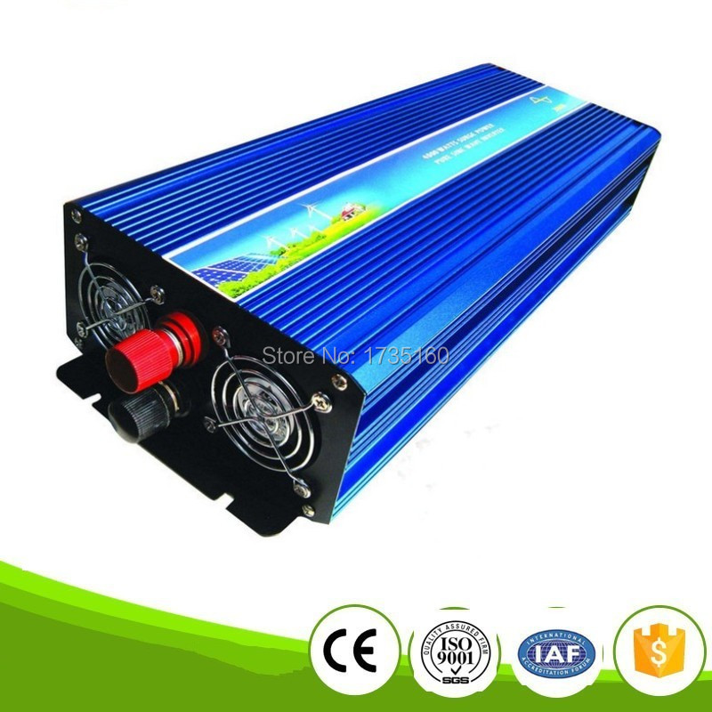 Volt Display AC Inverter Solar Inverter 5000Watt / 5000W 12/24/48VDC to 230/220VAC 5000W Peak Pure Sine Wave Power Inverter decen string grid connected pure sine wave inverter 5000w with two mppt 220vac power inverter applicable to various countries