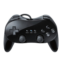 High Quality Black Wired Controller Controller With Double Joystick Double Shock And Mini USB For Pc