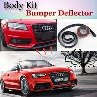Bumper Lip Lips For Audi A5 S5 RS5 2007~2015 / Car Lip Shop Spoiler / Scratch Proof Adhesive Body Kit + Car Lip Skirt