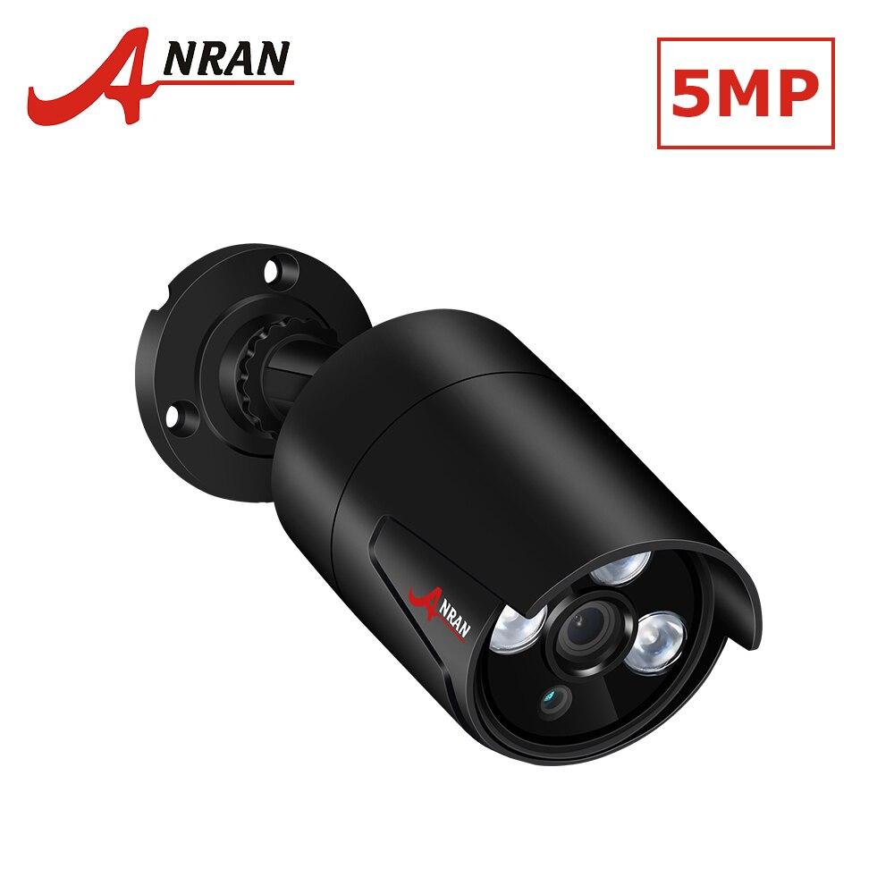 ANRAN Full HD 5.0MP IP Caméra H.265 POE Caméra de Sécurité Avec Haute Résolution 2560*1920 En Plein Air Réseau Étanche Vidéo caméra