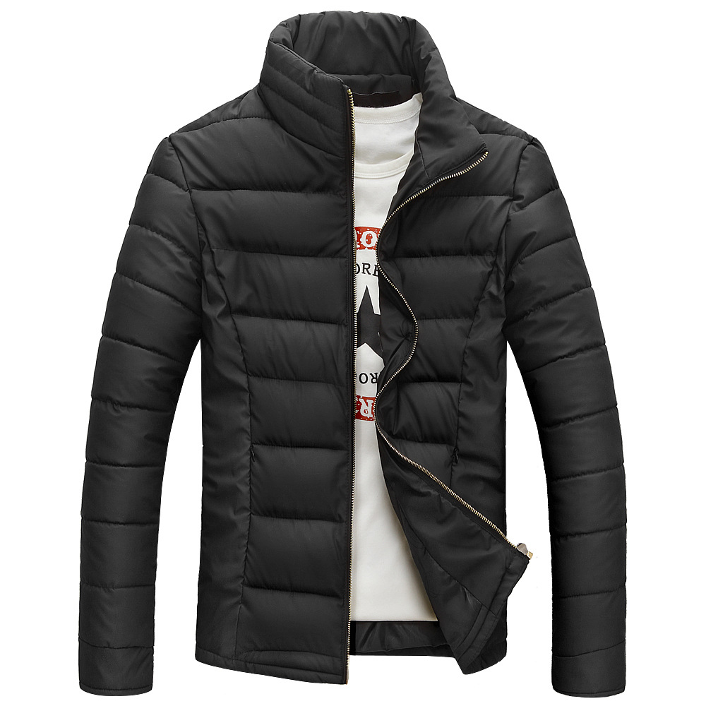 Hot sale free shipping men winter jacket cotton padded stand collar thick outwear men's coat Y1015-87D