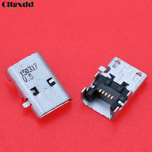Cltgxdd 1PCS Micro USB Jack Socket Charging Port Charger Dock Connector for Amazon Fire HD10 SR87CV HD 8 SG98EG(China)