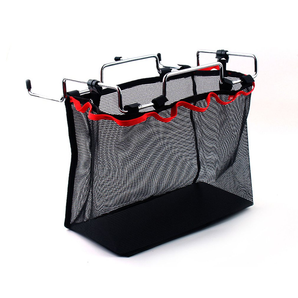 Outdoor Camping Wire Rack Portable Storage Bag Net Pocket Picnic Table Barbecue Kit Kitchen Miscellaneous Net Set
