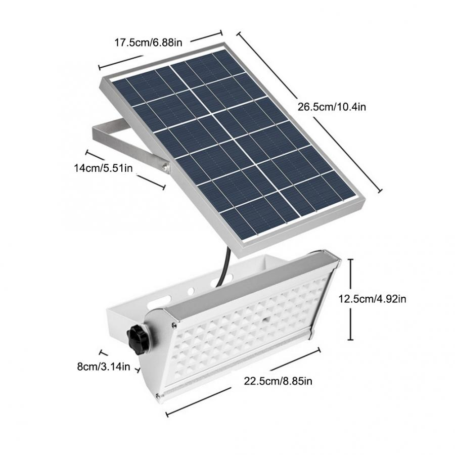 Solar Light Lamp 65 LED Solar Power Motion Sensor Light Security Garden Outdoor Path Lamp in Solar Lamps from Lights Lighting