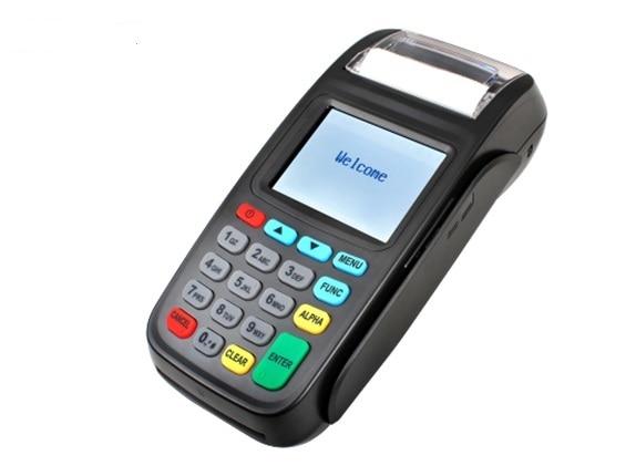 sistema linux terminal pos handheld com gprs de comunicacao movel e leitor de cartoes mifare