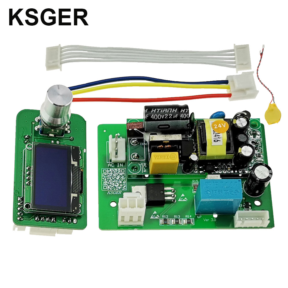 KSGER Hot Air Gun SMD Station DIY Kits OLED Controller Electric Power Tools Dryer 700W Sleeping
