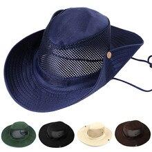 2b6326bca02 Men Women s Outdoor Wide Brim Sun Hat Side Snap Chin Cord Fishing Hiking Cap  CamouflageSummer Jungle