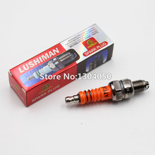 3 Electrode Spark Plug A7TC A7TJC For GY6 50 125cc Moped Scooter ATV Quads C7HSA CR7HSA