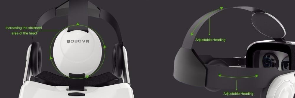 VR BOX BOBOVR Z4 Virtual Reality goggles 3D Glasses Google cardboard BOBO VR GLASSES Z4 Headset for 4.3 - 6.0 inch smartphones 35