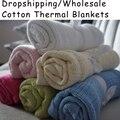 Высокая Quanlity хлопок одеяла рисунком милый ребенок обертывания для новорожденного крючком афганистана больница одеяла и одеяла оптовая продажа
