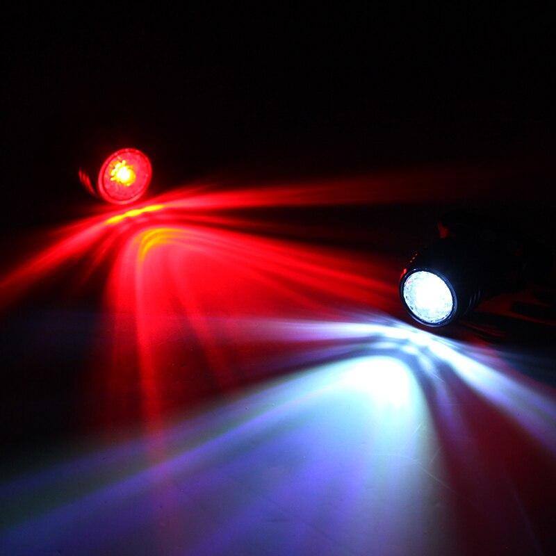 Biçikletë Deemount Rear dritë karat Llampë paralajmërimi - Çiklizmit - Foto 2