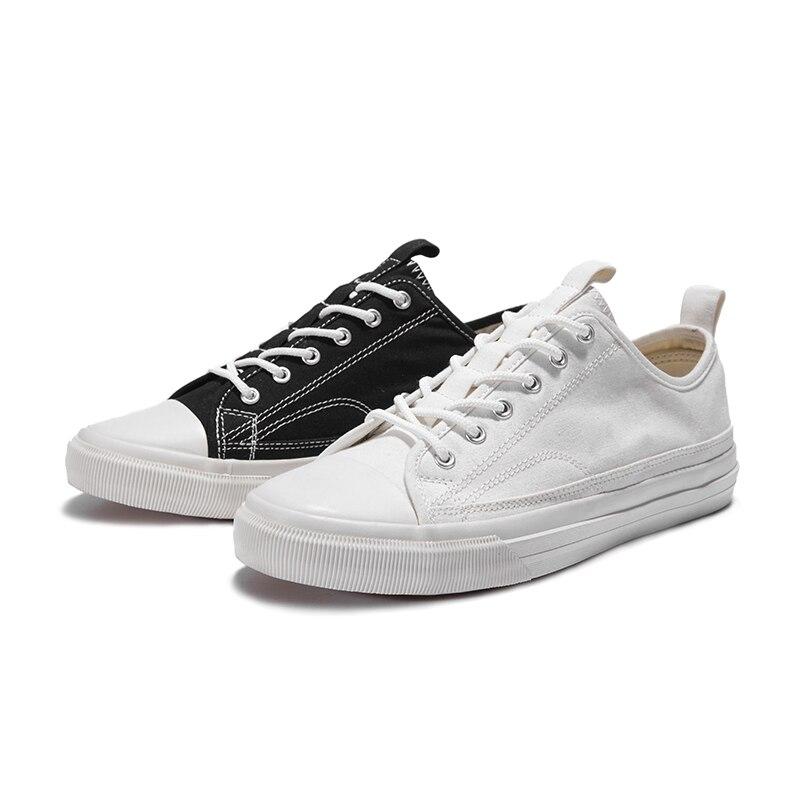 Outono Novos O Verão Clássicos Tendência Primavera Sneaker Lona Jogo Sapatos Todo 2018 branco Coreano Dos Casuais Respirável Branco De Preto Homens OSfZqw