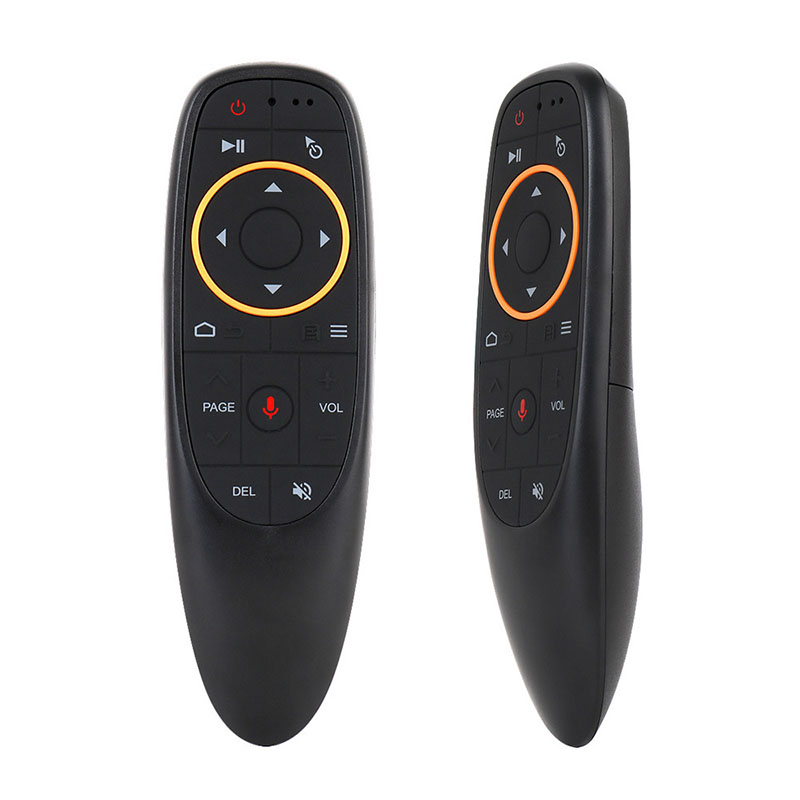 Receiver G10 Air Mouse Voice Control with <font><b>G10s</b></font> 2.4G USB for Gyro Sensing Mini Wireless Smart Remote for Android TV BOX image