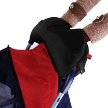 Baby Pram Stroller Hand Muff Fingerless Gloves Winter Warmer Gift for Parents and Caregivers