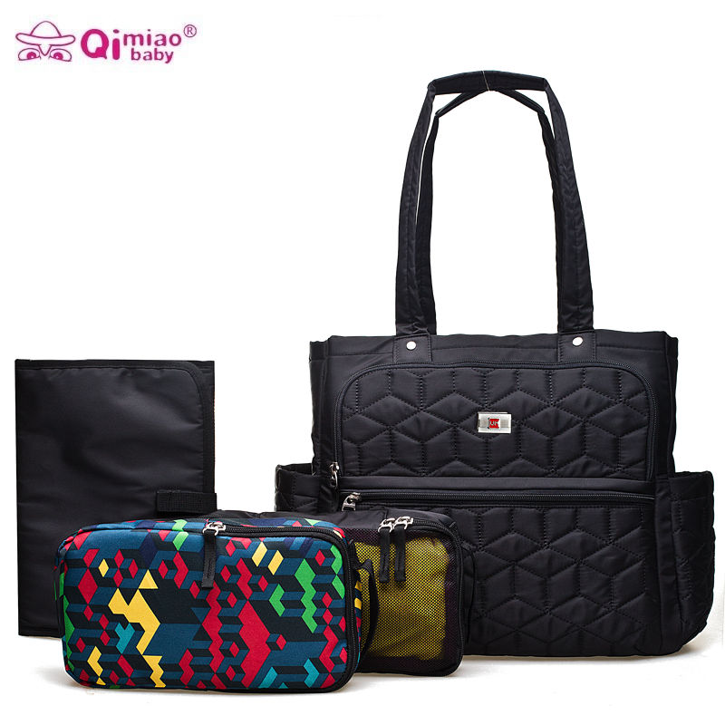 Brand Baby Stroller Diaper Bag Organizer Changing Nappy Bags Wet Mummy Maternity Bag For Diapers Mom Handbag Black Travel Bags aimababy 2017 new pu designer baby diaper nappy changing mummy maternity bag organizer bags for mom backpack bolsa maternidade