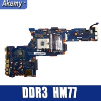 Novo Laptop Motherboard Para Toshiba Satellite P850 P855 K000135160 QFKAA LA 8392P PLACA PRINCIPAL DDR3 HM77 UMA