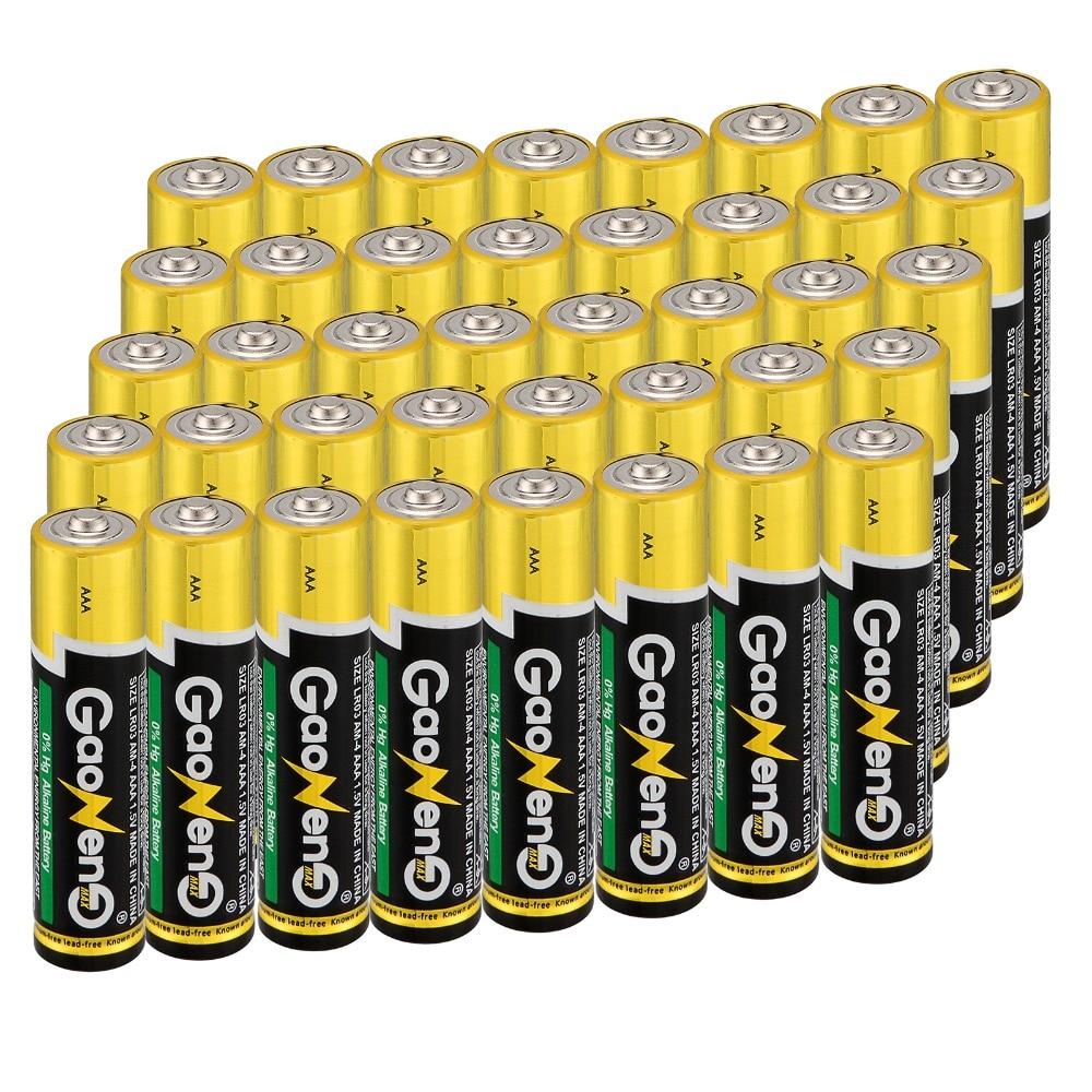 Baterias em Massa Baterias da Fonte de Alimentação Nova Chegada Brinquedo Gaoneng Pilhas Alcalinas Aaa 1.5 v Protectio Ambiental General60pcs