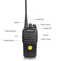 הדרך רדיו uhf Bluetooth מכשיר הקשר 5W UHF 400-480MHz מובנה מודול Bluetooth ניידת רדיו שני הדרך עם 16CH אוזניות Bluetooth אלחוטית (3)