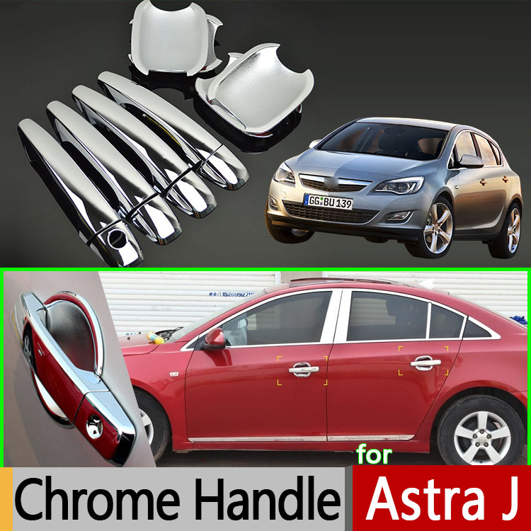 For Opel Holden Vauxhall Astra J Luxurious Chrome Door Handle Car Covers Abs Plastic Accessories Stickers Car Styling Chrome Door Chrome Car Stylingcar Door Handle Cover Aliexpress