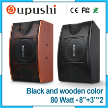 8 inch Wooden full range speaker 80 watt Karaoke speaker home theatre system
