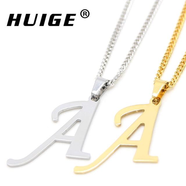 2016 fashion alphabet letter pendant necklace classic gold and 2016 fashion alphabet letter pendant necklace classic gold and silver color a m english capital letter l mozeypictures Choice Image