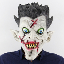 Horrible Zombie Mask Cosplay Costume Adult Halloween For Men Women Props
