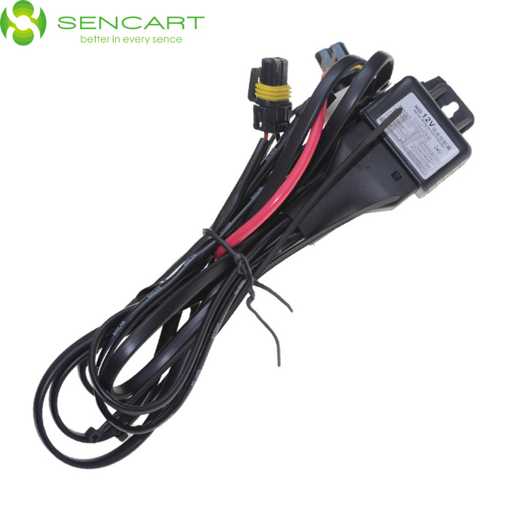 Car HID Bi xenon H4 9003 Hi Lo Controller Fuse Relay Wire Wiring Harness 12V car hid bi xenon h4 9003 hi lo controller fuse relay wire wiring 12V DC Battery at gsmx.co