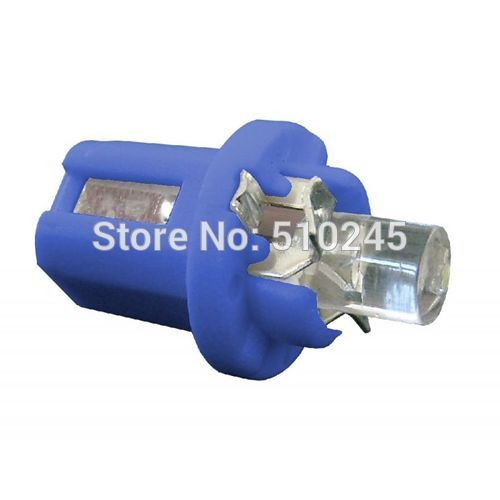 Free shipping 5000XFree shipping Car Auto LED B8.5D 1 led concave insturment dash Light Lamp White/Green/Blue/Red/Yellow